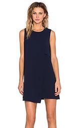 Асимметричное цельнокройное платье - Fifteen Twenty