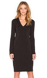Платье с длинным рукавом v neck - Saint Grace