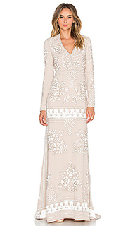 Вечернее платье graphic rose - Needle & Thread