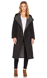 Кожаное пальто - VEDA