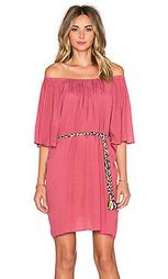Мини платье с рукавами 3/4 и открытыми плечами - T-Bags LosAngeles