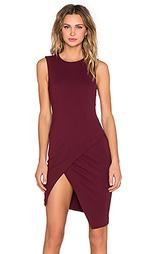 Асимметричное мини платье - BLAQUE LABEL