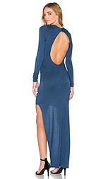Макси платье nancy - De Lacy