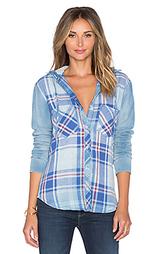 Рубашка с капюшоном на пуговицах - Bella Dahl