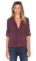 Рубашка с застёжкой на пуговицу и разрезом сзади - Bella Dahl