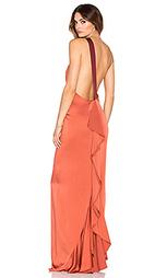 Вечернее платье с открытым плечом sandy - RACHEL ZOE