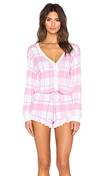Ромпер pink plaid - Wildfox Couture