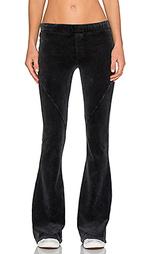 Клешные брюки slim velour - Pam & Gela