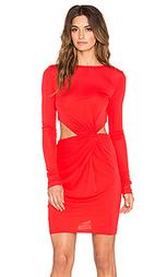 Мини платье с драпировкой shay - RACHEL ZOE