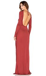 Драпированное вечернее платье fannie - RACHEL ZOE