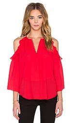 Блуза с открытыми плечами alea - RACHEL ZOE