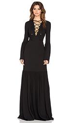 Вечернее платье со шнуровкой pax - RACHEL ZOE