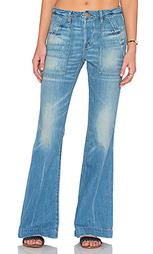 Расклешенные джинсы burroughs - NSF