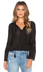 Блузка со шнуровкой romanian - Gypsy 05