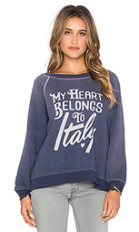 Свитшот my heart belongs to - Wildfox Couture