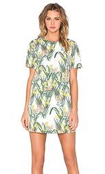Цельнокройное платье с цветочным принтом - BLAQUE LABEL