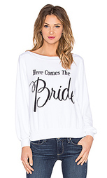 Пуловер here comes the bride - Wildfox Couture