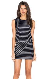 Платье в полоску без рукавов - Bella Luxx