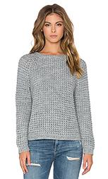Жатый свитер с вафельной текстурой - Bella Luxx