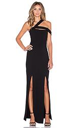 Вечернее платье ponti circular curve - NICHOLAS