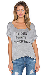 Футболка my diet starts tomorrow - DAYDREAMER