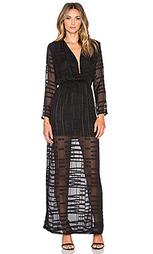 Платье с глубоким v-образным вырезом gemma - Three Eighty Two