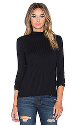Свитер cashmere flare long sleeve turtleneck - Enza Costa