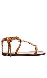 Сандалии link weave tie - Zimmermann