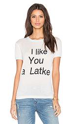 Футболка i like you a latke - Wildfox Couture