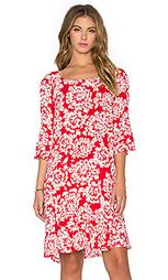 Цельнокройное платье с коротким рукавом elida - Velvet by Graham & Spencer