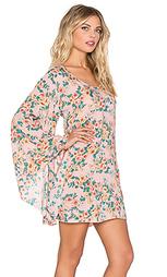 Цельнокройное платье с рукавами-колокол - AUGUSTE