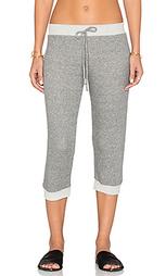 Укороченные махровые спортивные брюки - Nightcap