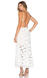 Платье с перекрестными шлейками сзади jardin - Line & Dot