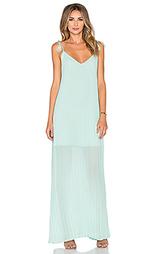 Плиссированное платье muse - Line & Dot
