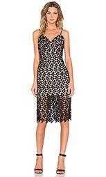 Платье с цветочными кружевами - Bardot