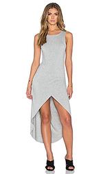 Макси-платье с асимметричным подолом haley - Bishop + Young