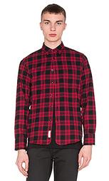 Рубашка на пуговицах 3/4 placket - rag & bone