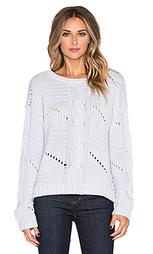 Укороченный свитер с рифленой вязкой center - 525 america