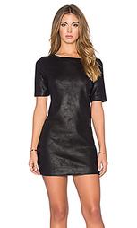 Замшевое цельнокройное платье audrie - Level 99