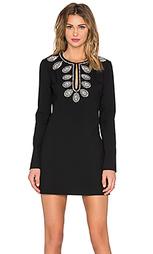 Мини платье платье-футляр платье с длинным рукавом zen - RACHEL ZOE