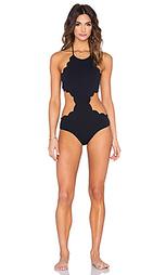 Слитный купальник mott cutout maillot - Marysia Swim