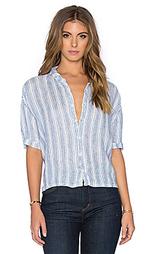 Полосатая рубашка с застёжкой на пуговицы rory - CP SHADES