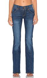 Джинсы с узким клешем - Hudson Jeans