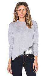 Пуловер с асимметричным подолом - Tibi