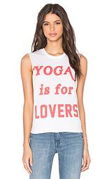 Майка без рукавов yoga is for lovers - The Laundry Room
