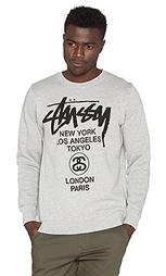 Пуловер world tour - Stussy
