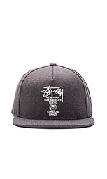Бейсболка снэпбэк world tour ho15 - Stussy