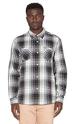 Клетчатая рубашка на пуговицах big mac - Stussy