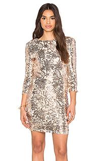 Платье с пайетками paris - TFNC London