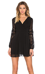Мини платье long sleeve lace - BCBGeneration